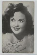 1940 1940-60 Exhibit Movie Stars Made In USA #SUHA Susan Hayward Card 1s8