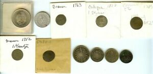 GERMANY 1700'S - 1900'S INTRESTING COINS SOME FROM VERY OLD COLLECTIONS