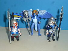 3 blaue Asien Ritter zu 4836 4865 Ritterburg Playmobil 006