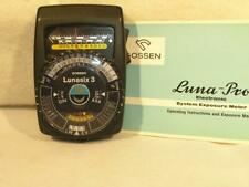 Late Model Black Gossen Lunasix 3 (Luna-Pro) Exposure Meter