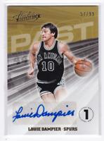 2018-19 Absolute Memorabilia Louie Dampier #/99 Past Autographs Card Auto