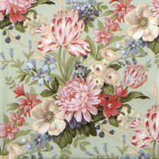 4x Paper Napkins for Decoupage Decopatch Craft Calm Flowers