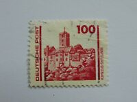 DDR 100 Pfennig(.) Freimarke 1990 mit Plattenfehler Mi 3350 IV