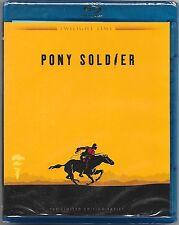 Pony Soldier Blu Ray New Twilight Time Ltd Edition All Regions Free Post