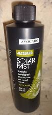 JACQUARD 236ML SUN DYEING PRODUCT AVOCADO  'SOLARFAST' FABRIC PAPER + MUCH MORE