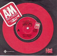 JIM DIAMOND I Should Have Known Better / Impossible Dream 45