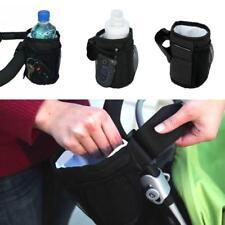 Baby Stroller Cup Holder Drink Bag Milk Bottle Phone Pram Buggy Wheelchair CO