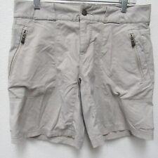 Columbia Women's Titanium Omni-Shield Tan Khaki Active Hiking Shorts Size 6