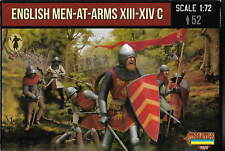 STRELETS Set M 118. inglese men-at-arms XIII-XIV C. IN SCALA 1/72.
