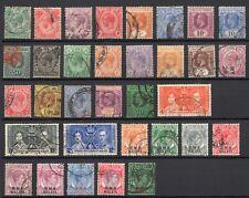 Malaya, Straits Settlements KGV selection 1900's