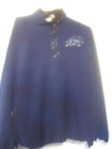 """Comlorado Timberline  Labatte Blue fleece XL """"MAX-OUT-GYM"""" 1/4 zipper"""