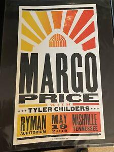 Margo Price Ryman Auditorium Poster Night 1 Hatch Show Print