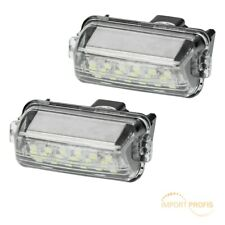 2x LED licence plate lights number plate bulb module Toyota Auris Avensis Camry