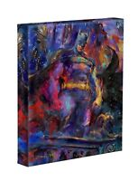 The Dark Knight 14 x 11 Gallery Wrap by Artist Blend Cota - DC Comics - Batman