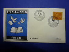 LOT 12640 TIMBRES STAMP ENVELOPPE JOURNEE DU TIMBRE PORTUGAL ANNEE 1968