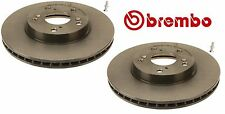 2 Front Honda Accord CR-V Civic Element Disc Brake Rotor OEM Brembo 45251S87A00