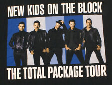 New Kids On The Block Total Package Tour 2017 Concert T-shirt, Adult Size Small