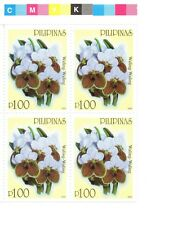 Philippine Stamps- Orchids- B/4-  at cost -MNH