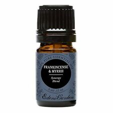 Frankincense & Myrrh Synergy Blend Essential Oil by Edens Garden Cedarwood and 5