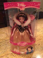 "Disney Princess Snow White Porcelain Doll 25th Brass Key~2006~17""~ New In Box"