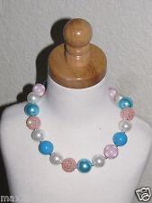 New Acrylic Chunky Beads Bubblegum Gumball Jewlery Necklace girl birthday prop