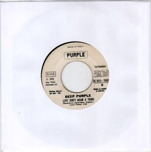 45 GIRI JB - Deep Purple / Stormbringer - Love Don't Mean a Thing