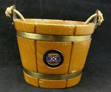 Union Castle SS Braemar Castle 1952 to 1966. Commemorative Turned Wooden Bucket