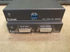 Extron DVI 201 Transmitter Receiver extender set for extending laptop projector