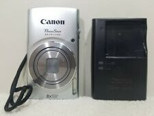 CANON PowerShot ELPH 135 16.0MP Camera w/Charger SD Card