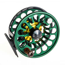 NEW BAUER RX-2 GREEN/ BLACK FLY FISHING REEL FOR 4-6 WEIGHT ROD+ FREE $100 LINE