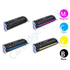Compatible Set of 4 HP 124A B/C/Y/M for 1600/2600N/2605DN/2605DTN LaserJets