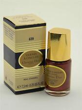 Dior Vernis A Ongles Nail Enamel Polish 639 Garnet Red