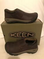 Keen Austin Casual Slip-On Chocolate Brown Shoes Loafers Men's sizes 7-17 NEW!!!