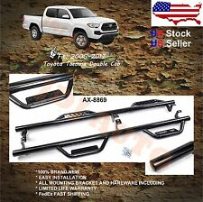 05-17 Toyota Tacoma Double Cab Nerf Bars Side Hoop Step Bars Running Board