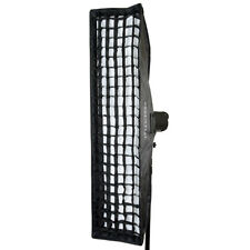 "30x120cm Multiblitz V-Type Fitting Strobe Strip Softbox Grid 11.8""x47.2"""