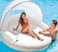 "Intex River Canopy Island Inflatable Lounge 58292EP-78""x59""-NEW-SHIPS FREE"