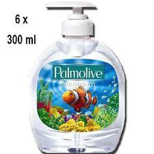 6 x PALMOLIVE Flüssigseife - Pump Aquarium - 300 ml