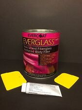 EVERCOAT EVERGLASS SHORT STRAND FIBERGLASS BODY FILLER + HARDENER & SPREADERS