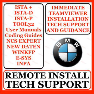 BMW & MINI DIAGNOSTIC ISTA INPA ESYS KDCAN ENET INSTALLATION SERVICE & SUPPORT