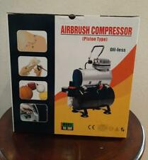 ZENY AIRBRUSH COMPRESSOR  PRO 1/5 HP  KIT WITH 3 L TANK and 6 FT HOSE