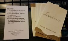 Avon Incandessence Fragrance Samples - Microdots x 10 Sachets