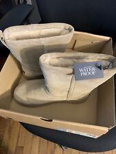 Treadlite UGG Womens Size 11 Classic Short Waterproof Winter Boot Color Sand
