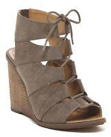 MELROSE & MARKET Womens 'Calista' Stone Wedge Sandals Sz 6.5 - 13