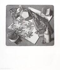 MC Escher Reptilien Poster Kunstdruck Bild 65x55cm