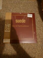 Suede Live At The Roundhouse HMV 1921 Gold Vinyl