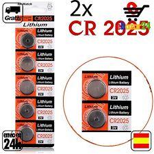 2x CR 2025 PILAS pila de botón baterías 3 V boton bateria CR2025 CR 2025 DL2025