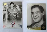 2001-02 UD Legends FC-TS Sawchuk Terry  fiorentino collection  wings
