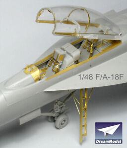 1/48 F/A-18F PE set for Hasegawa, DreamModel DM2017