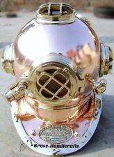 Antique Vintage US Navy Deep Sea Diving Helmet MarkV18 Inch Replica