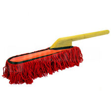 Traditional Car Duster Wooden Handle Wax Oil California Style Mop Brush